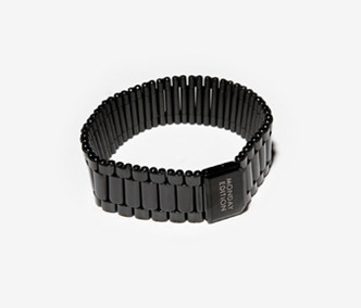Colored Watch Bracelet(black)