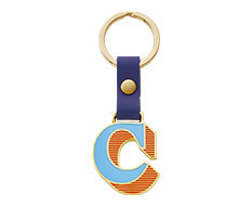 Stickery Initial Key Ring C