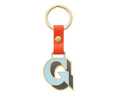 Stickery Initial Key Ring G