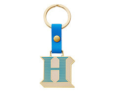 Stickery Initial Key Ring H