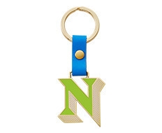 Stickery Initial Key Ring N