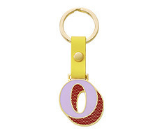Stickery Initial Key Ring O