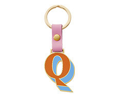 Stickery Initial Key Ring Q (50%off)