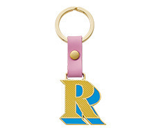 Stickery Initial Key Ring R (50%off)