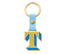 Stickery Initial Key Ring T