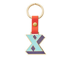 Stickery Initial Key Ring X (50%off)