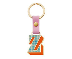 Stickery Initial Key Ring Z