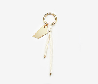 [Monday Edition] Metal Board And Rope Key Ring (20%off)