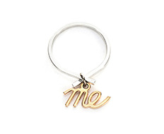 usual me pendant simple ring B