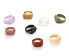 usual color rings set (2rings-1set)