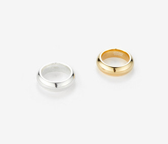 [Monday Edition] Bold Twin Silver Rings (30%off)