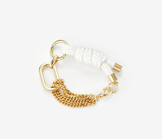 [Monday Edition] Big Shape Bold Chain and Rope Bracelet
