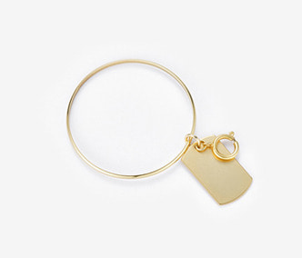 Soldier Tag Bangle