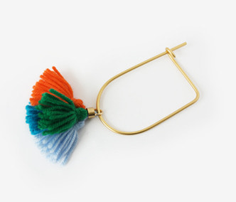 Wool Tassel Bangle