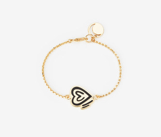 [ME x Chocomoo] heart of teddy chain bracelet