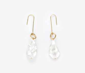 Dropped Ugly Pearl Earrings