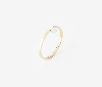 Birthstone Ring Opal - October