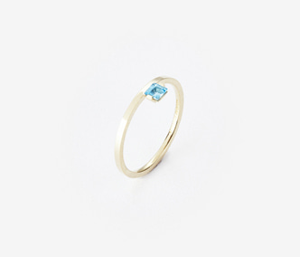 Birthstone Ring Topaz - November