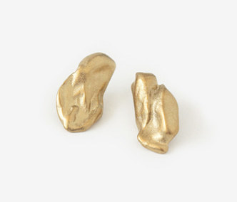 Bold Baroque Gold Earrings