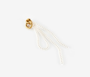 [Monday Edition] Pearl Knot Zipper Single Earring (20%off)