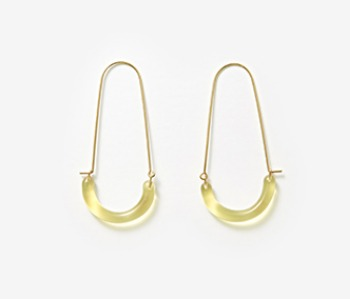 [Monday Edition] U Shape Glass Earrings