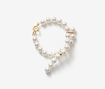 [Monday Edition] Cross-ended Pearl Bracelet