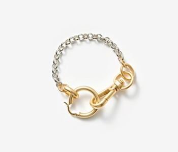 [Monday Edition] Linked Chunky Hoop Bracelet