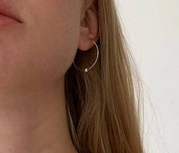 [usual ME] Luna Orbit Earrings (15%off)