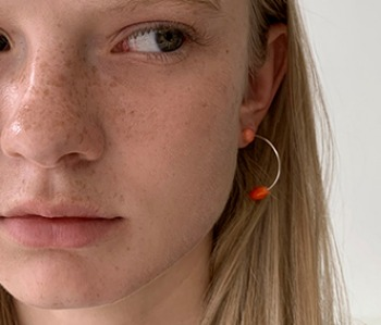 [usual ME] Corallites Assembly Simple Earrings (15%off)