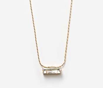 Crystal Cup Long Necklace (15%off)