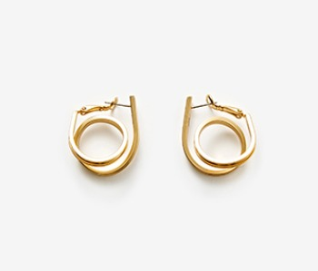 Small Coil Itself Earrings (15%off)