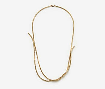 Twin Movement Necklace (15%off)