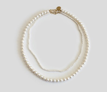 The Basic Pearl Becklace SET (15% off) (2주예약배송)