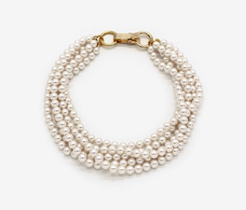 Pearl Bunch Necklace (10% off) (2주예약배송)